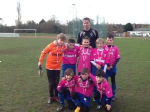 Kids Cup Regional South winners Gillingham FC