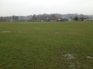 Wimbledon Park Waterlogged